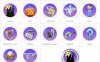 Halloween Iconset Template Icon Set