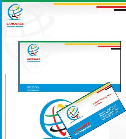 Plantilla de Identidad Corporativa #21544 para Sitio de Escuelas de ...