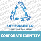 Software Corporate Identity Template 21732