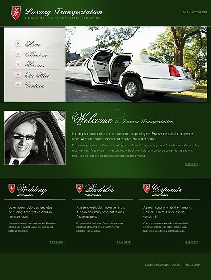 Realizare Site Online limuzine
