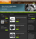 Magento: Art & Photography Online Store/Shop Electronics Magento Templates