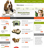Magento: Online Store/Shop Animals & Pets Wide Templates Magento Templates