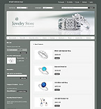 Magento: Online Store/Shop Fashion Jewelry Wide Templates Magento Templates