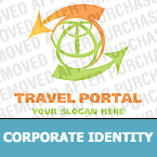 Travel Corporate Identity Template 21868