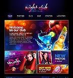 Kit graphique boîte de nuit 21986 nuit club musique