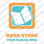 Books Logo  Template 22049