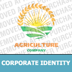 Agriculture Corporate Identity Template 22082