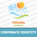 Travel Corporate Identity Template 22086