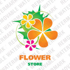 Flowers Logo  Template 22093