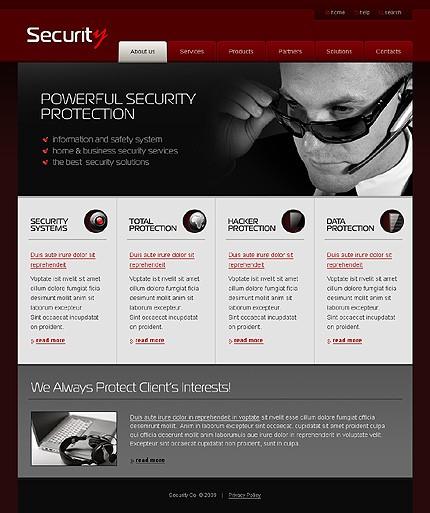 Creare site firma securitate