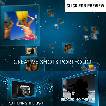 Szablon Intro Flash #22186 na temat: portfolio fotograficzne FLASH INTRO SCREENSHOT