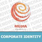 Media Corporate Identity Template 22209