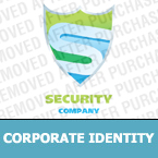 Security Corporate Identity Template 22213