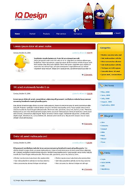 Тема (шаблон) для Wordpress (22230)