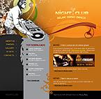 Kit graphique boîte de nuit 22256 nuit club musique