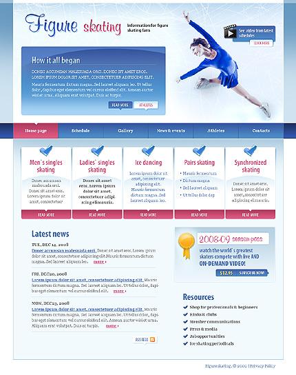 Многостраничный CSS-шаблон для сайта (главная и внутренние страницы) (22274)