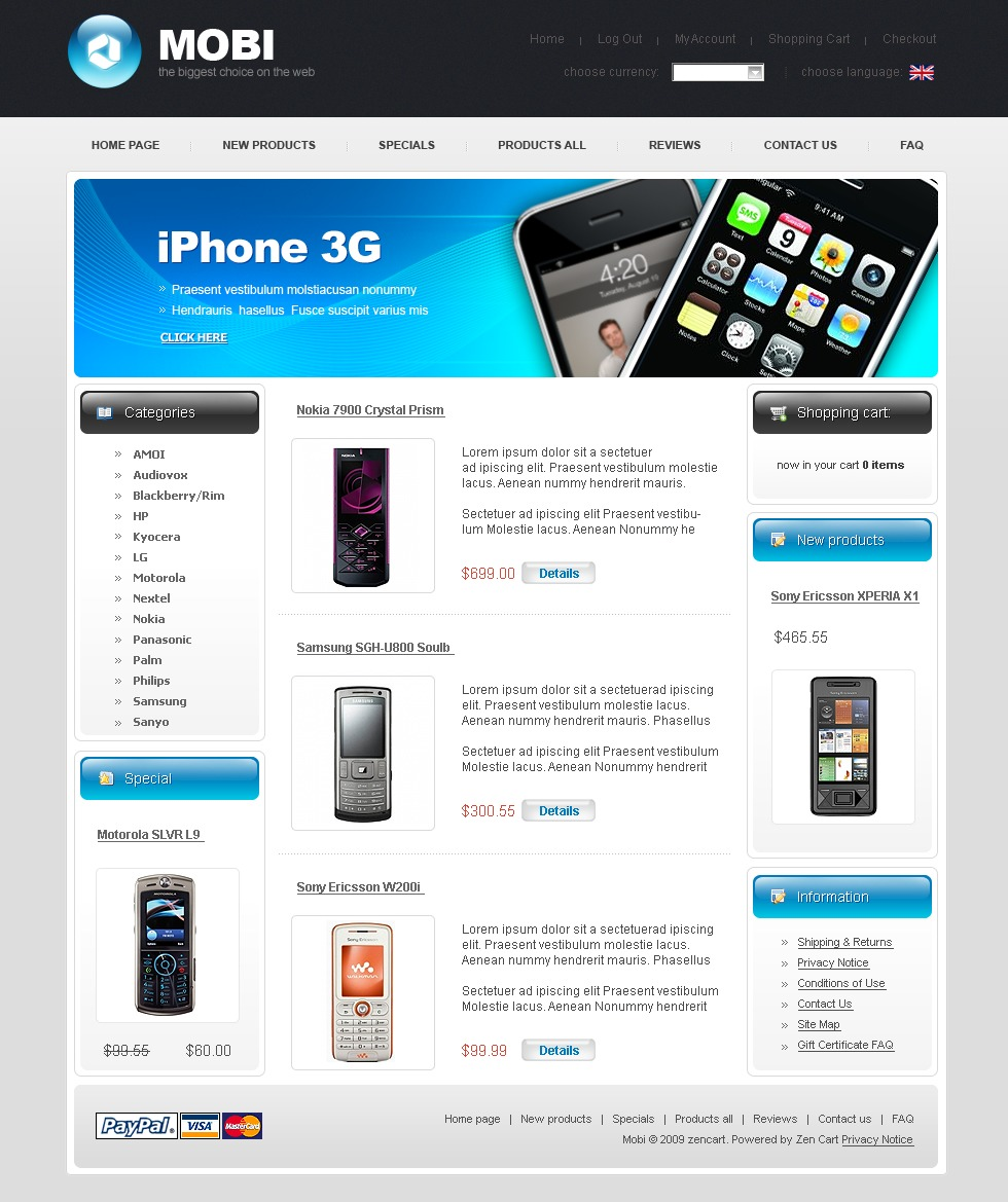 Mobile Store Templates Templatemonster Dinocrofo