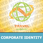 Travel Corporate Identity Template 22317