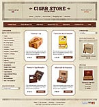 Zen Cart: Online Store/Shop Zen Cart Templates Wide Templates Tobacco Templates