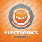 Electronics Logo  Template 22403