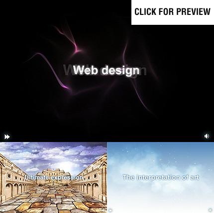 Szablon Intro Flash #22632 na temat: web design FLASH INTRO SCREENSHOT