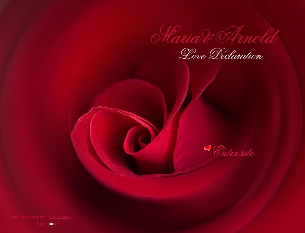 St. Valentine Flash Template #22696