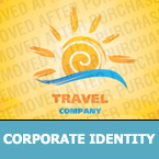 Travel Corporate Identity Template 22725