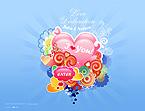 Kit graphique st. valentin 22737