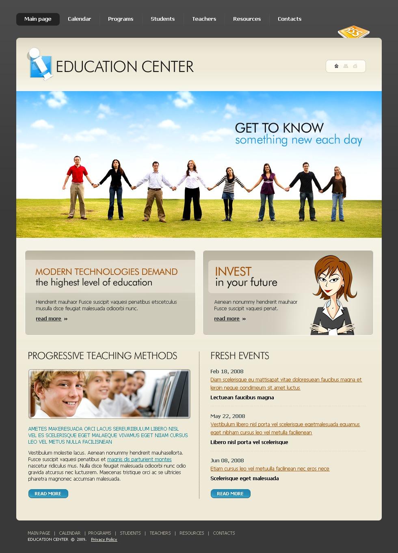 education website template  22750