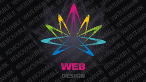 Web Design Logo Template vlogo