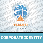 Travel Corporate Identity Template 23025