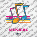 Music Logo  Template 23028