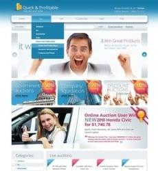 Auction Web Templates Website Templates