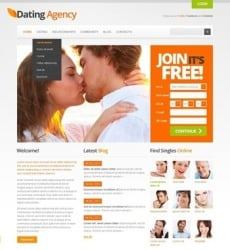 free html dating website templates