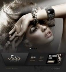 Jewelry Web Templates Website Templates - Jewellery website templates