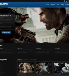 Games Web Templates   Website Templates
