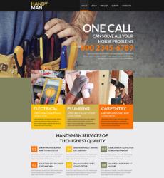 Maintenance Services Website Template