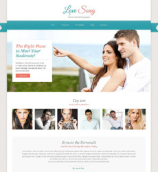 Category Dating Free Templates Online - Dating website template