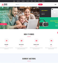 Auction Web Templates Website Templates