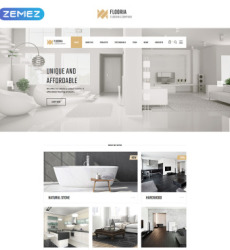 Interiart Interior Design Html Landing Page Website Templates