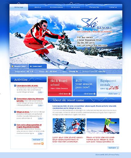 Promovare site statiune de schi