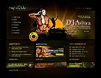 Kit graphique boîte de nuit 23208 nuit club musique