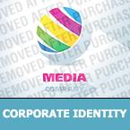 Media Corporate Identity Template 23237