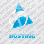 Web Hosting Logo  Template 23249