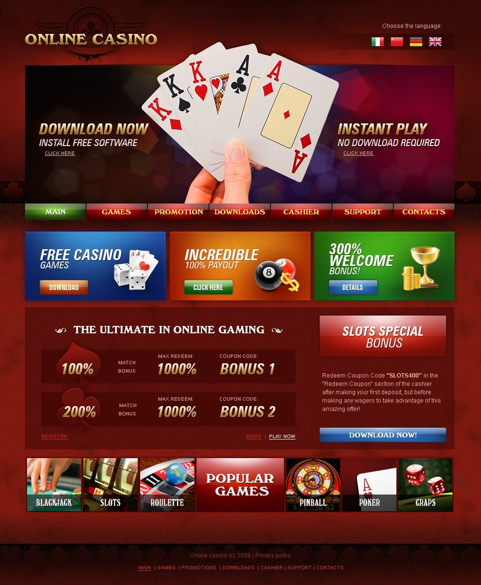 Casino web design gambling therapy birmingham