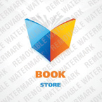 Books Logo  Template 23335