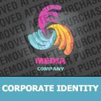 Media Corporate Identity Template 23401