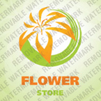 Flowers Logo  Template 23411