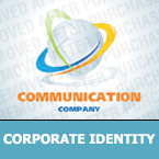 Communications Corporate Identity Template 23514