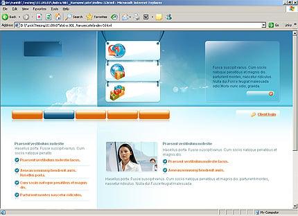 Website template 23533